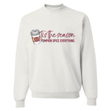 Monogrammed Tis The Season For Pumpkin Spice Sweatshirt