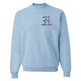 Monogrammed Airplane Mode Outta Here Sweatshirt
