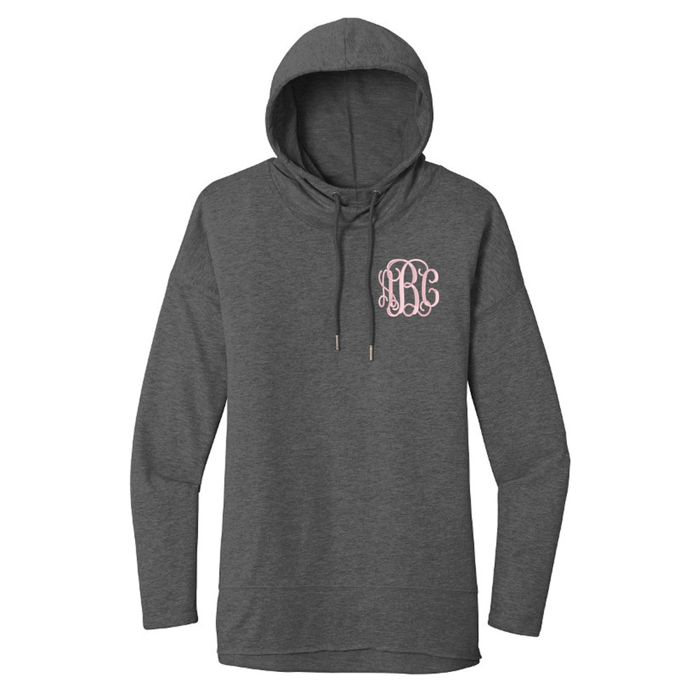 Monogrammed Lightweight French Terry Hoodie