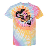 Monogrammed Minnie Mouse Nurse Strong Tie Dye T-Shirt