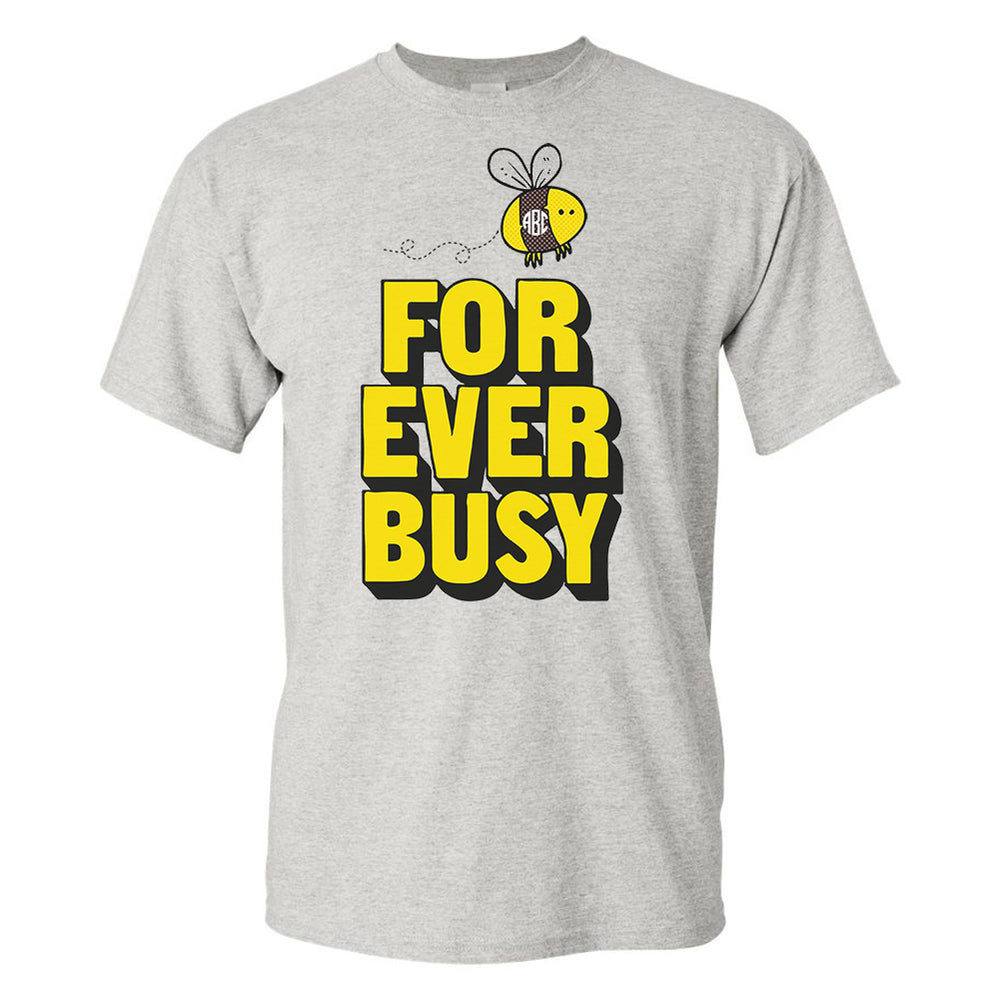 Monogrammed Forever Busy Bee T-Shirt