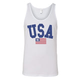 Monogrammed USA Classic Tank Top Fourth of July