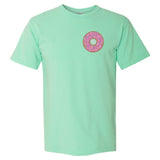 Comfort Colors T-shirt with Embroidered Donut Monogram