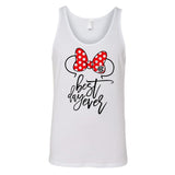 Monogrammed Disney Minnie Mouse Best Day Ever Tank Top
