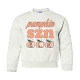 Monogrammed Kids Youth Pumpkin SZN Sweatshirt