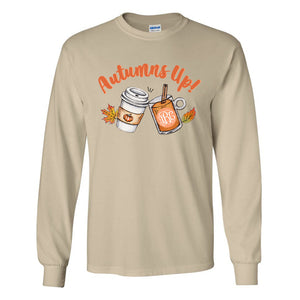 Monogrammed Autumns Up Long Sleeve Shirt