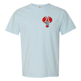 Chambray Comfort Colors T-Shirt with United Monograms Lobster