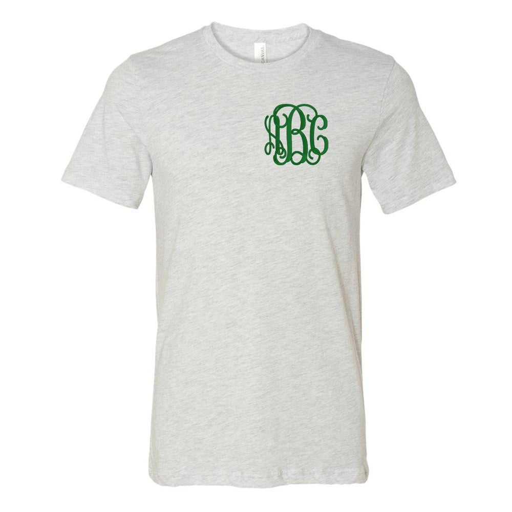 Monogrammed Colorful T-Shirts Soft Tee