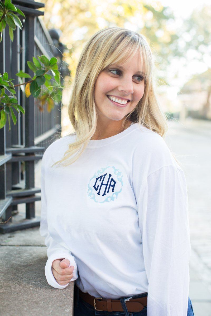United Monograms Spring Long Sleeve Fancy