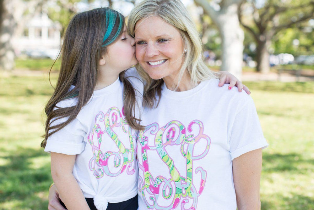 Monogrammed Mommy & Me Package Lilly Pulitzer T-Shirts