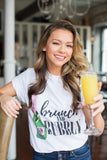 Monogrammed Brunch & Bubbly T-Shirt