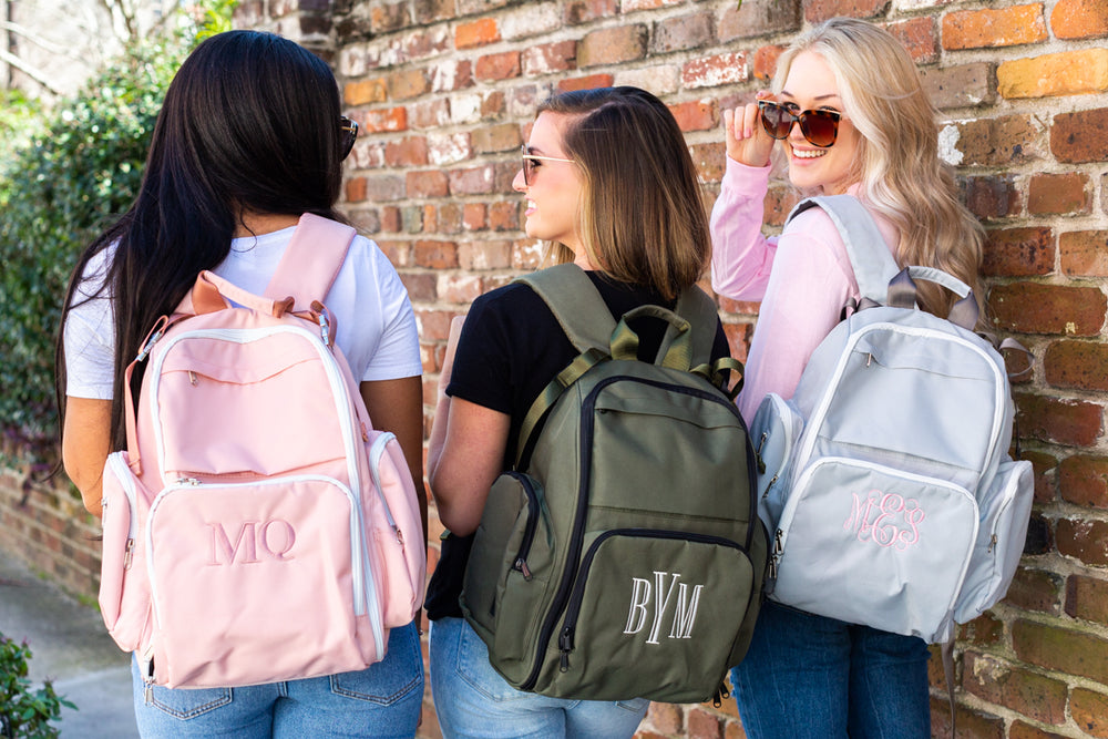 Monogrammed Motion Multipurpose Backpack