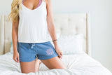 Monogrammed Comfort Colors Shorts Loungewear