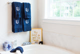 Monogrammed 8pc Bath Towel Set