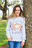 Monogrammed Most Wonderful Time of the Year Sweatshirt Fall