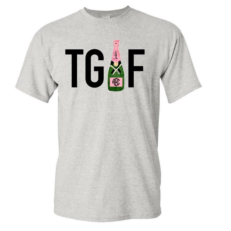 Friday T-Shirt! Monogrammed 'TGIF'