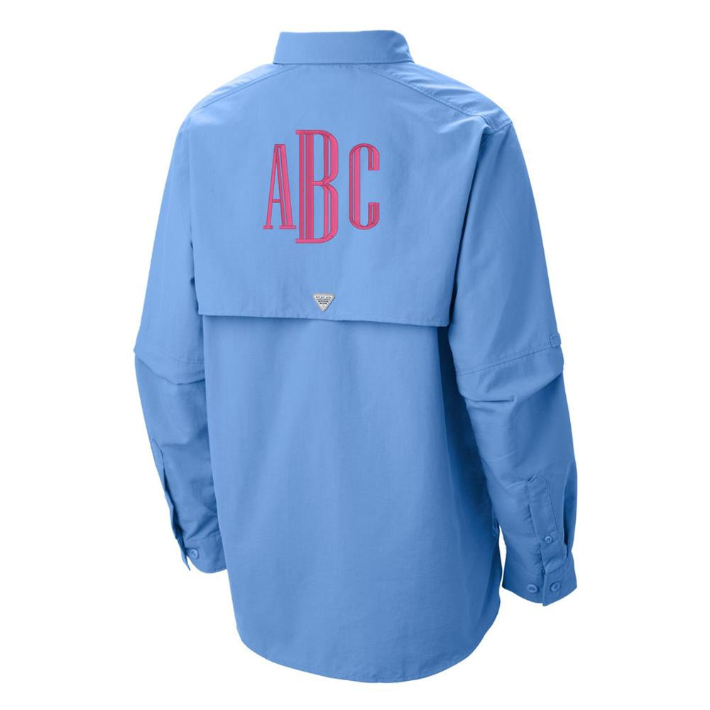 0a8929545d Monogrammed Columbia PFG Ladies Long Sleeve Fishing Shirt – United ...
