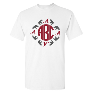 Monogrammed 'Alabama' T-Shirt