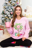 Monogrammed 'Christmas Down South' Crewneck Sweatshirt