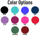 Color Options for monogram