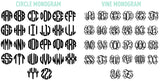 Monogram Options