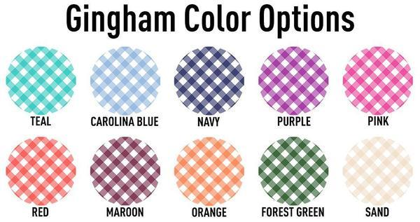 Gingham Colors