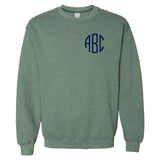 Monogrammed Heather Crewneck Sweatshirt
