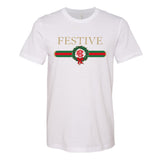 Gucci Dupe Festive Christmas Tee