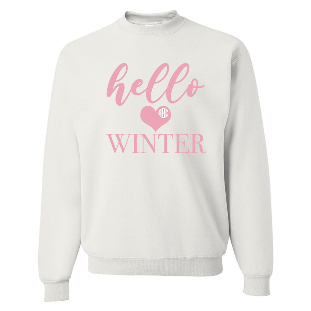 Winter Love Graphic Sweatshirrt