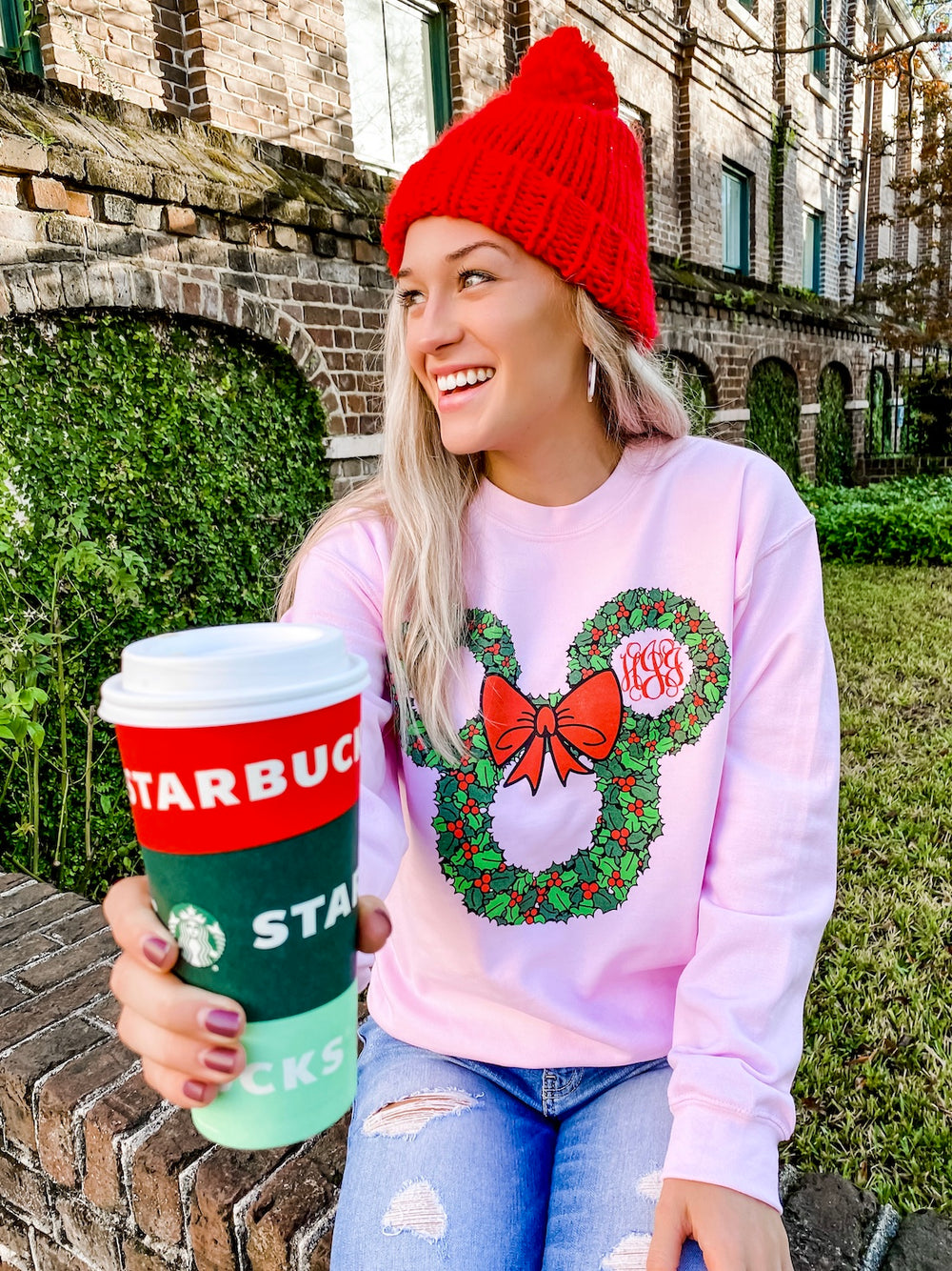 Minnie Mouse Christmas Sweatshirt