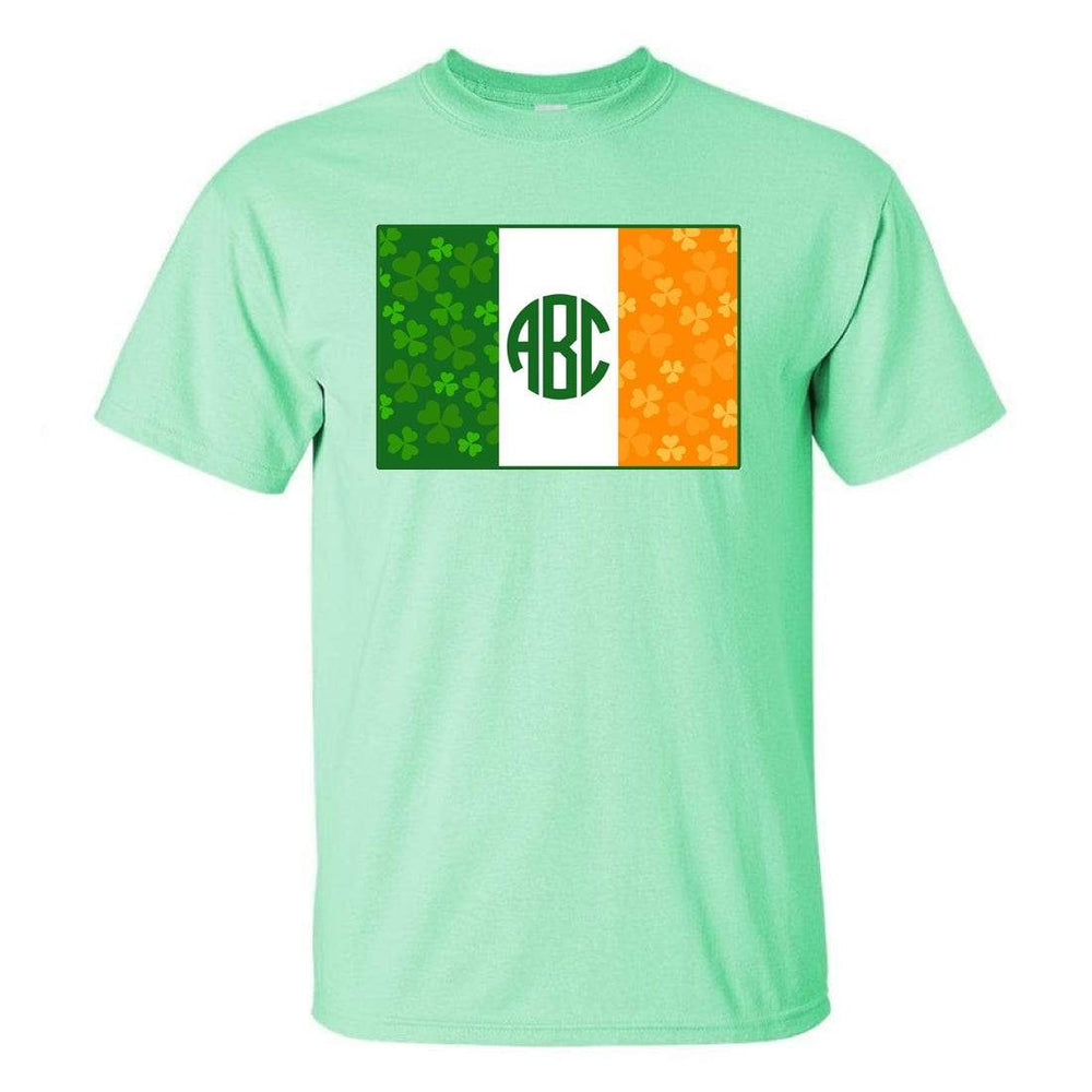 Mint Monogrammed T-Shirt St- Patricks Day