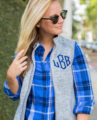 Shelby United Monograms Vest Model- Badass Shelby Lowery