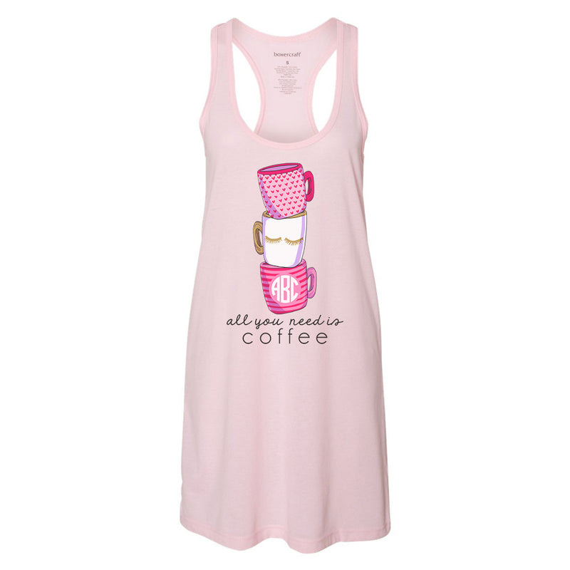 Girls' Clothing (newborn-5t) Pink Monogramable Me Sleep Gown Baby & Toddler Clothing
