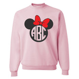 Monogrammed 'Minnie Mouse' Crewneck Sweatshirt