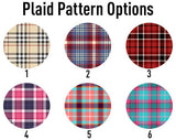 United Monograms Plaid Pattern Color Options
