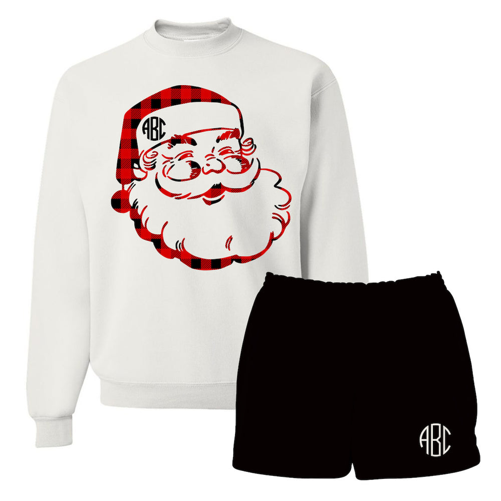 Santa Clause Christmas Morning Outfit