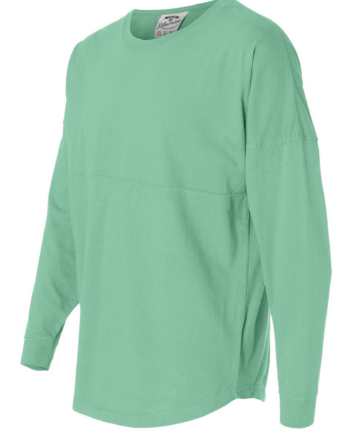 Monogrammed Pullover Jersey