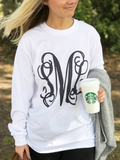 UNited Monograms Big Print Long Sleeve SML Vine