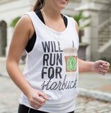 Funny Starbucks Tank Top