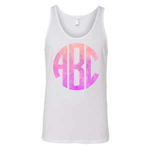 Monogrammed Ombre Tank Top