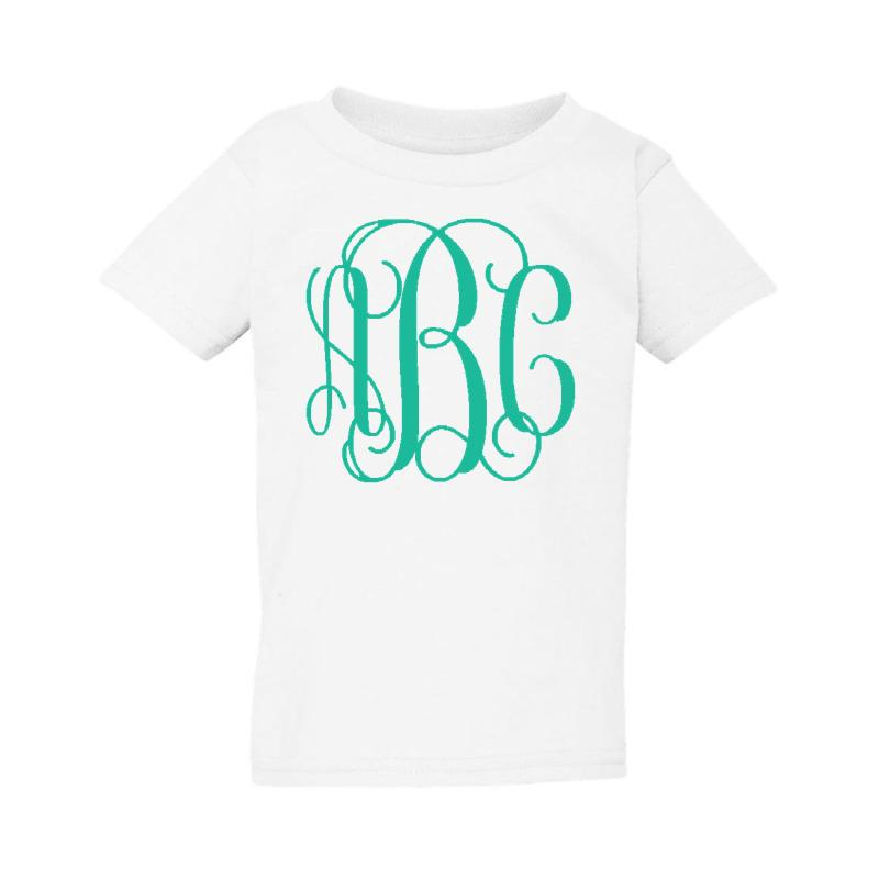 Toddler Big Print Tee- Sizes 2T-5T