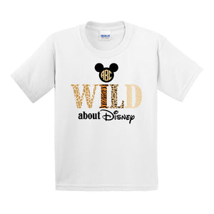 Kids 'Wild About Disney' T-Shirt