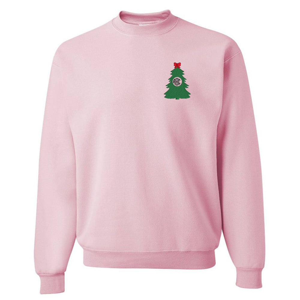 Monogrammed 'Christmas Tree' Crewneck Sweatshirt