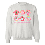 Monogrammed Happy Ugly Sweater Weather Sweatshirt Christmas Holidays