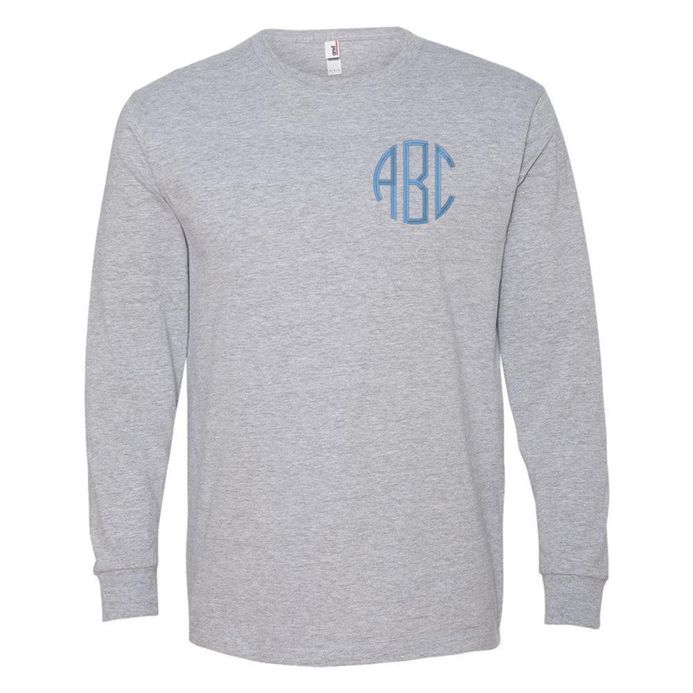 Monogrammed Premium Long Sleeve T-Shirt
