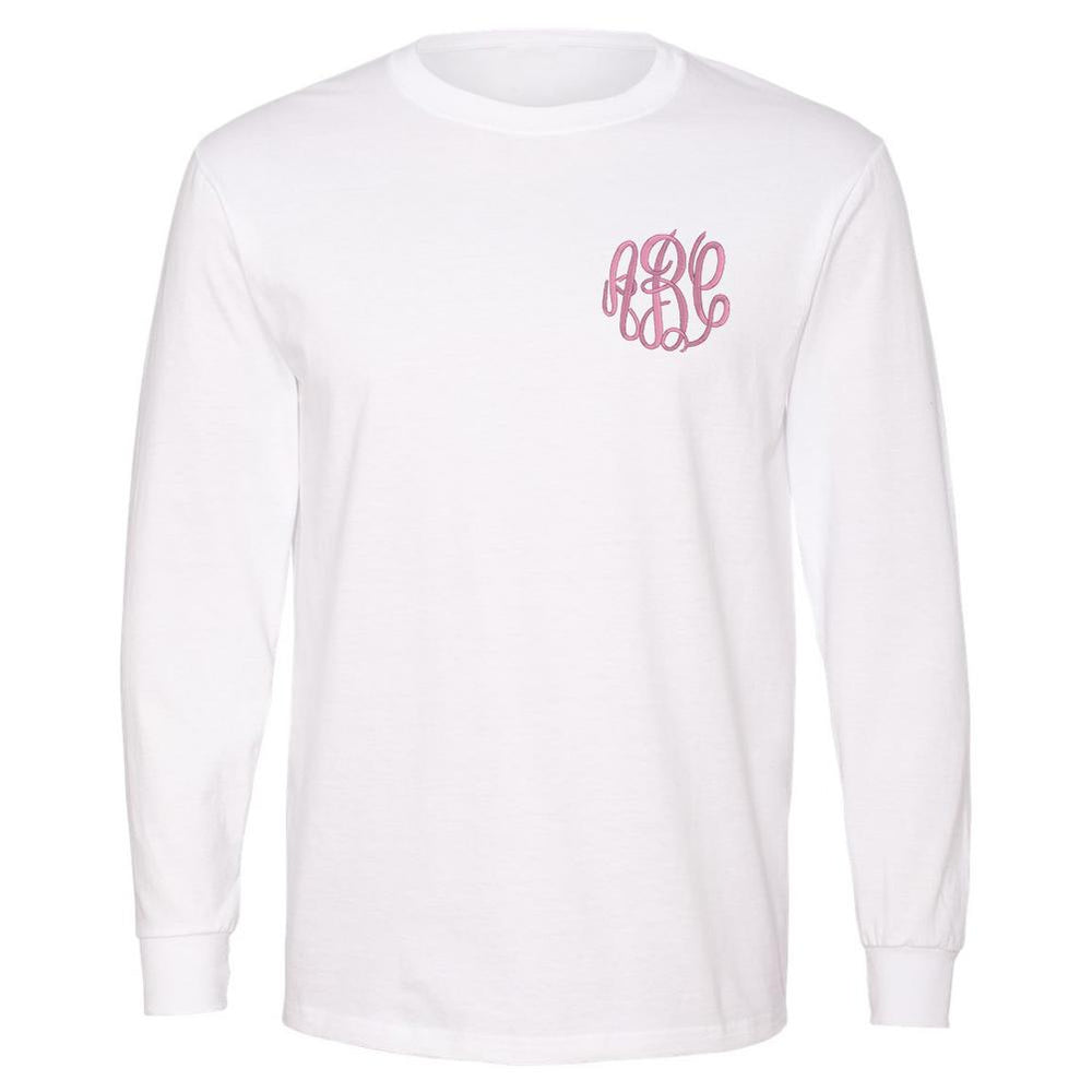 Fall Long Sleeve Monogram