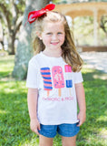 Kids Monogrammed 'Patriotic & Proud' T-Shirt