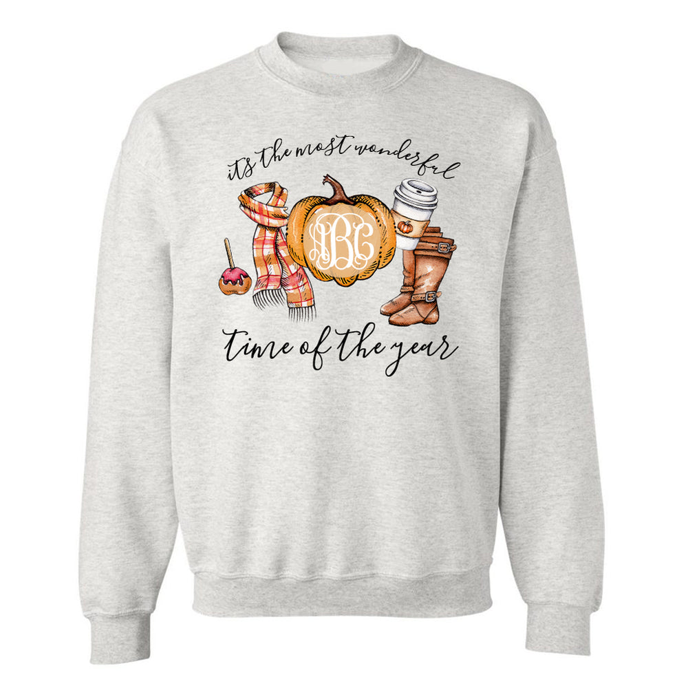 Most wonderful time of the year monograms