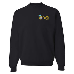 Monogrammed 'OMG! Engagement Ring' Crewneck Sweatshirt