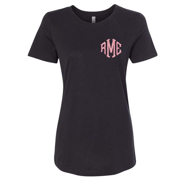 Monogrammed Ladies Fit Tshirt